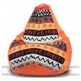 Кресло мешок Принт Африка