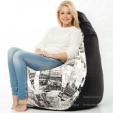 Кресло мешок Принт Биг-Бен