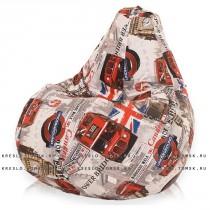 Кресло мешок Принт Лондон