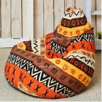Кресло мешок Принт Африкана