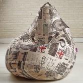 Кресло мешок Принт Челси
