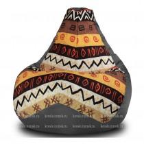 Кресло мешок Комбо Африка